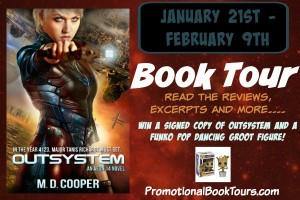 Outsystem Book Tour and Giveaway