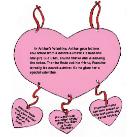Arthur's Valentine Reading Activity