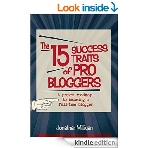 Free Kindle Book: The 15 Success Traits of Pro Bloggers: A Proven Roadmap to Becoming a Full-Time Blogger
