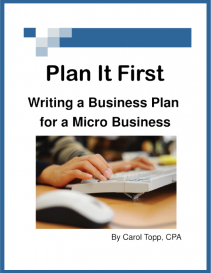 Plan It First Free Business Planner Book