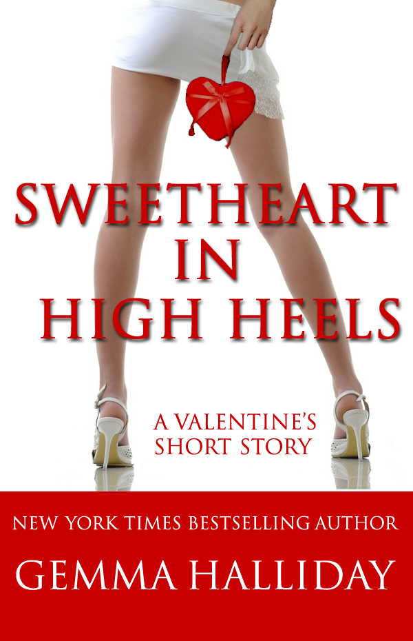 Free Valentine's Book Sweetheart in  High Heels