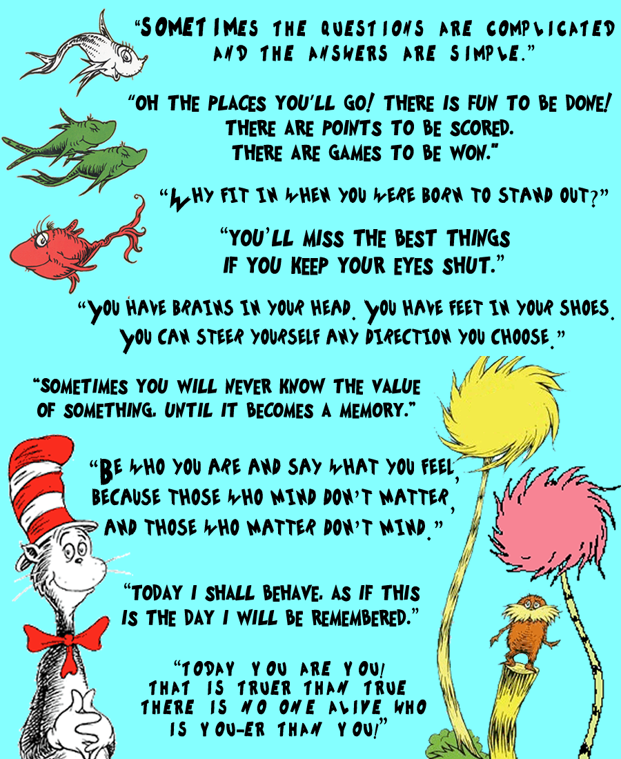 Fun Ways To Share Your Love of Dr. Seuss