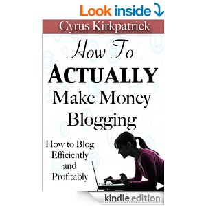 Free Book: How to Actually Make Money Blogging