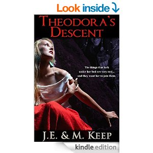 Free Book Theodora's Descent: A Psychological Horror Novel