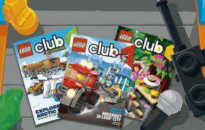 Free Subscription to Lego Magazine