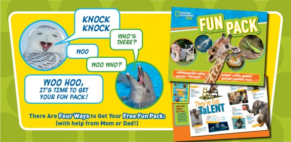 FREE National Geographic Kids Fun Pack
