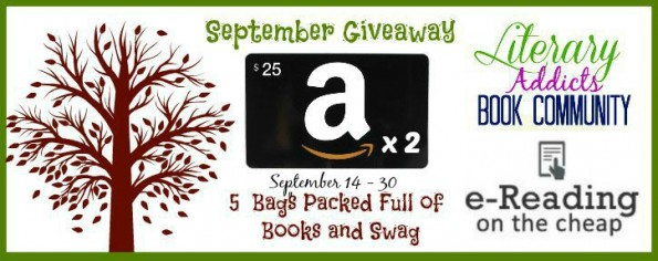Literary Addicts September Giveaway