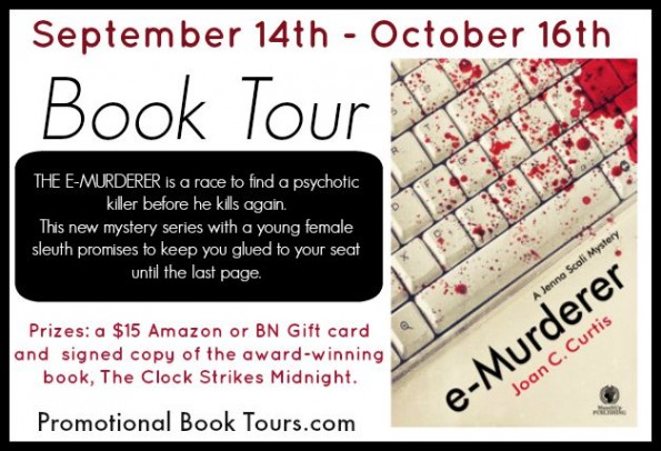 e-Murder Book Tour and Giveaway
