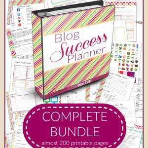 Awesome Blogging Planner For Sale