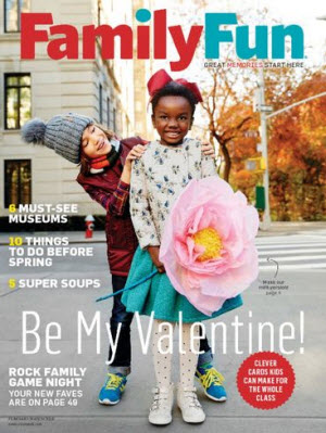 Complimentary Year Subscription to FamilyFun