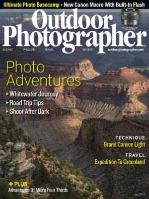 Free 1 Year Subscription to Outdoor Photographer