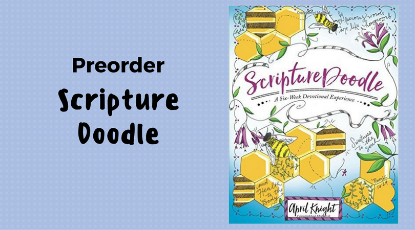 Preorder Scripture Doodle