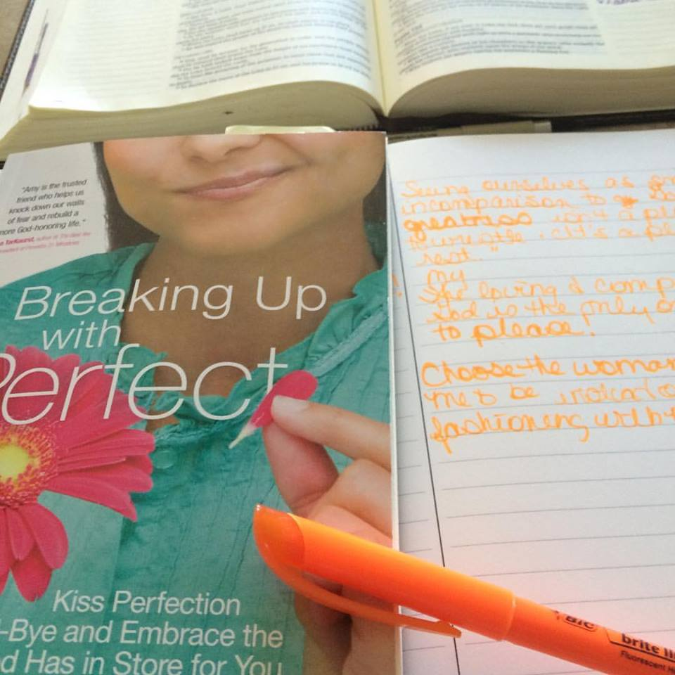 Breaking Up With Perfect Devotional
