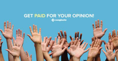 Get Free Gift Cards for taking surveys on Swagbucks