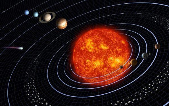 pluto solar system