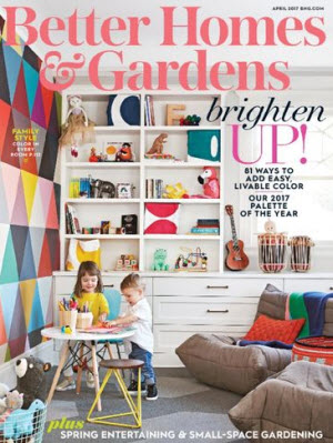 FREE Better Homes & Gardens Magazine Subscription
