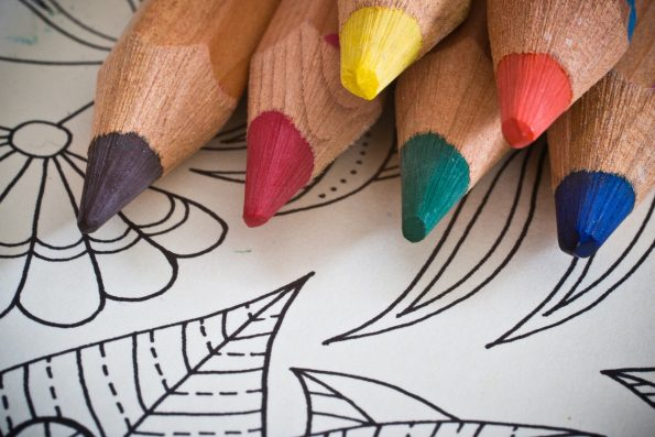 Celebrate National Coloring Book Day