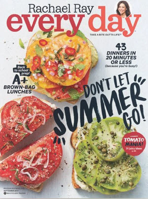 2 FREE Issues of Rachael Ray Magazine