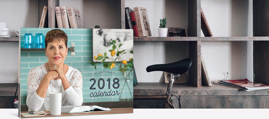 FREE 2018 Joyce Meyer Calendar