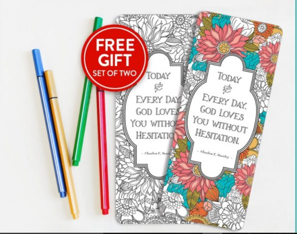 Free Set of Coloring Bookmarks by North Carolina Book Blogger Reading with Frugal Mom