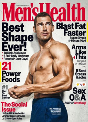 FREE 1-Year Subscription to Men's Health Magazine