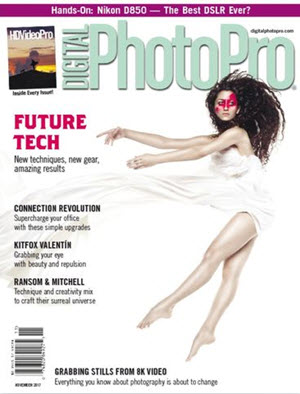 Free One Year Subscription to Digital Photo Pro