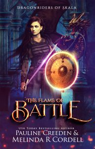 Book Blast – The Flame of Battle: Dragons, Vikings, and War (Dragonriders of Skala Book 1)