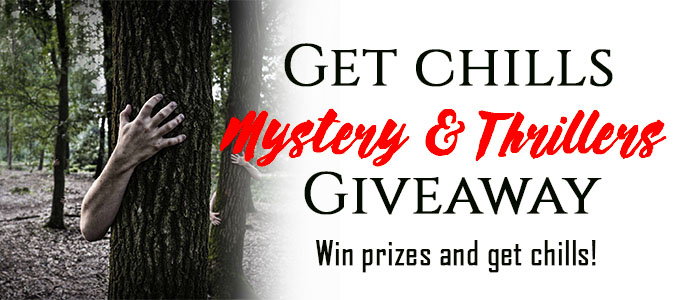 Get Chills Mystery and Thriller $100 Amazon GC Giveaway