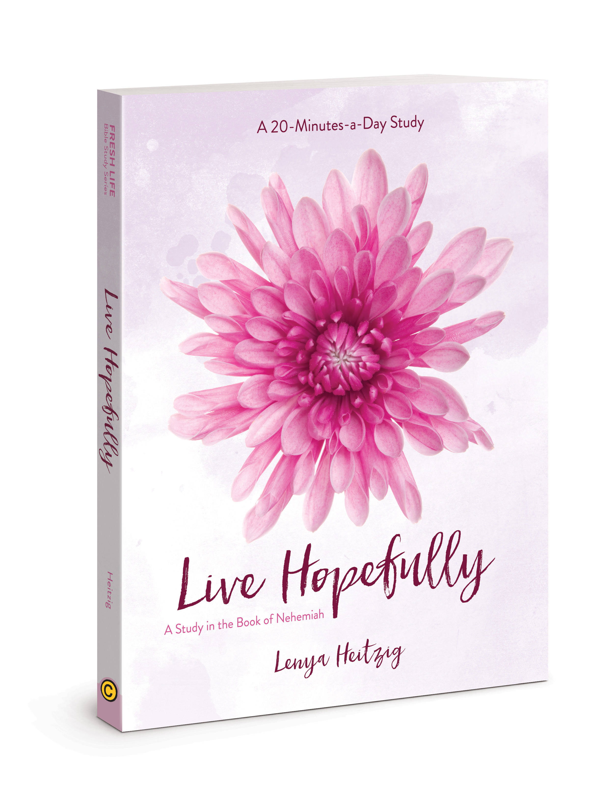 Free Book Living Hopefully from North Carolina Book Blogger Reading with Frugal Mom