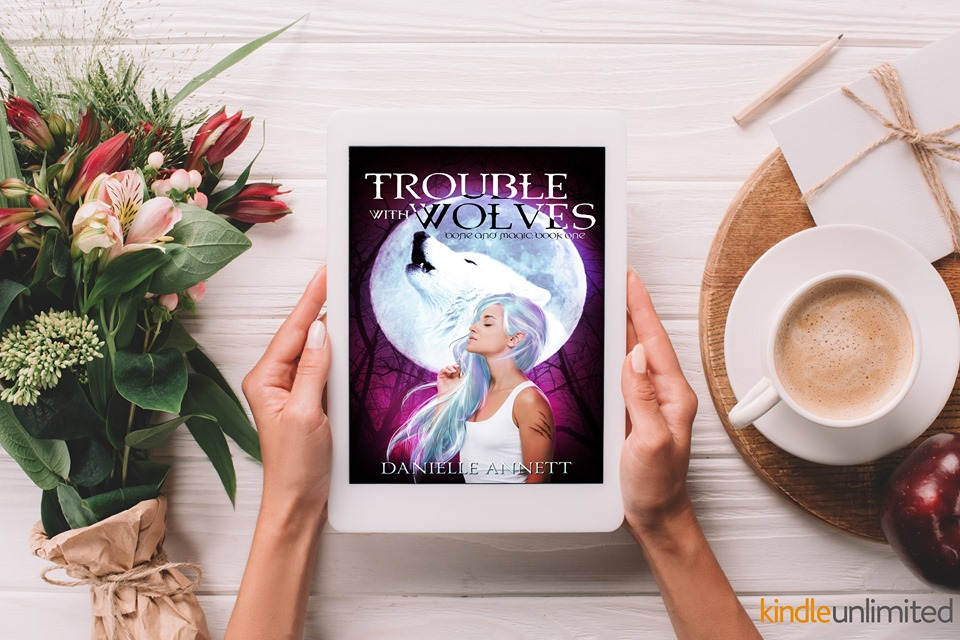 Book Blast - Trouble With Wolves by Danielle Annet from North Carolina Book Blogger Reading with Frugal Mom