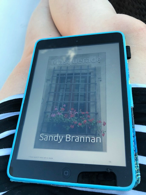 Chatting about NC Author Sandy Brannan from North Carolina Book Blogger Reading with Frugal Mom
