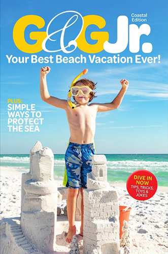 Free Digital Issue of G&G Jr. Magazine from North Carolina Reading Blogger Reading with Frugal Mom.