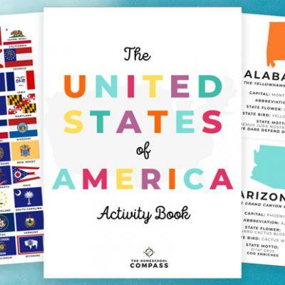 Free 50 States Printable Activity Book