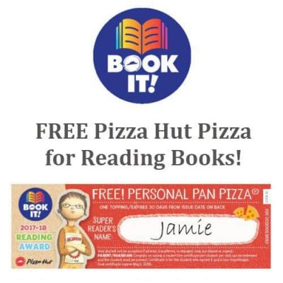 Earn Free Pizza Hut Pan Pizzas By Reading Books