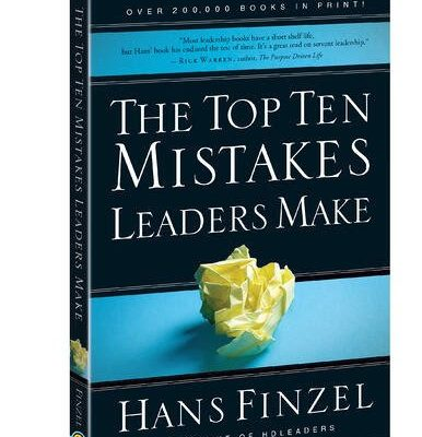 Free Book For Kindle about Mistakes Leaders Make